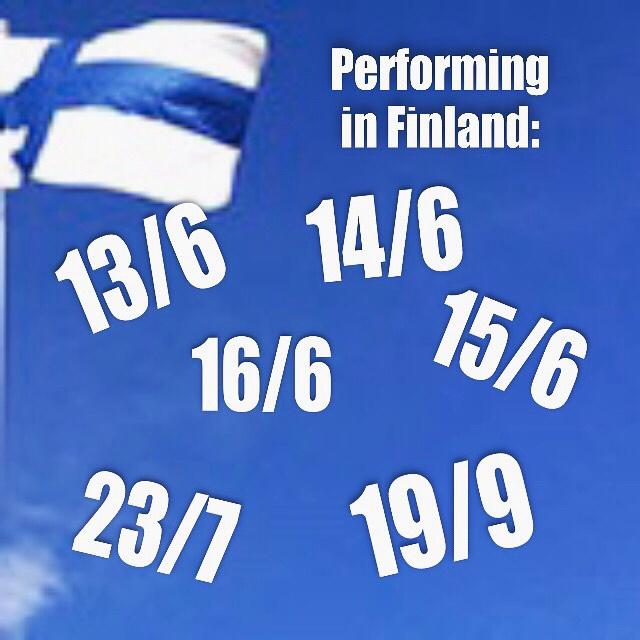 Esiintymiset Suomessa 2019